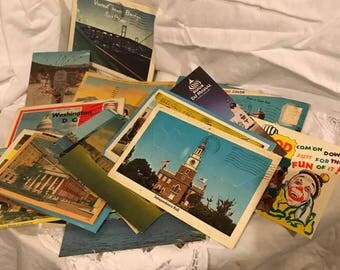 Vintage Postcards from the 1950's-1970's