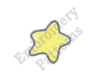 Sea Star - Machine Embroidery Design