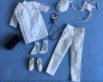 Vintage Barbie 1963 Ken Outfit #793 Dr. Ken Complete - Very Good Condition