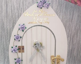 Fairy Door - Wedding Day - Weeding Gift, Personalised Weeding Keepsake