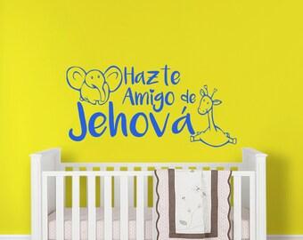 JW Wall Decal - Hazte Amigo de Jehova