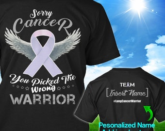 Personalized Lung Bone Cancer Awareness Tshirt White Ribbon Warrior Support Survivor Custom T-shirt Apparel Unisex Women Youth Kids Tee