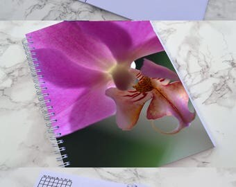 Orchid Bullet Journal - Free Dated!! // Planner // Diary // Georgia O'Keefe