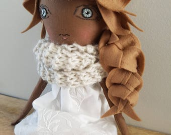 Handmade Doll / Fabric Doll / Cloth Doll / Heirloom Doll