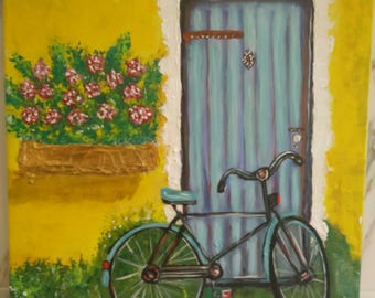 Vintage Bicycle - 40cm x 40cm