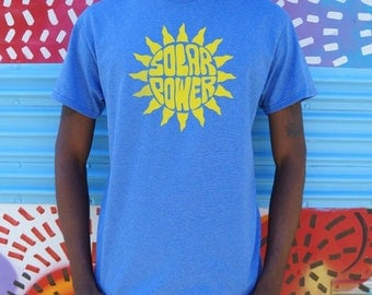 Men High Quality Silk Solar Power T-Shirts Shipped Daily all sizes high quality Active