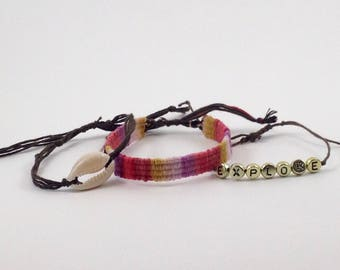 the explorer bracelet set