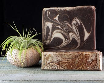 Cuppa Joe w/Cream - Handmade Soap - Artisan Soap - Coffee Soap - Mocha - Soap O'cean Dream Soaps - Ocean Soap - Ocean - Gift
