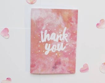 Thank you - lovely thank you card