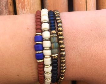 Beaded Fall Stack