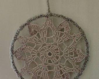 Christmas Mandala Window Pendant