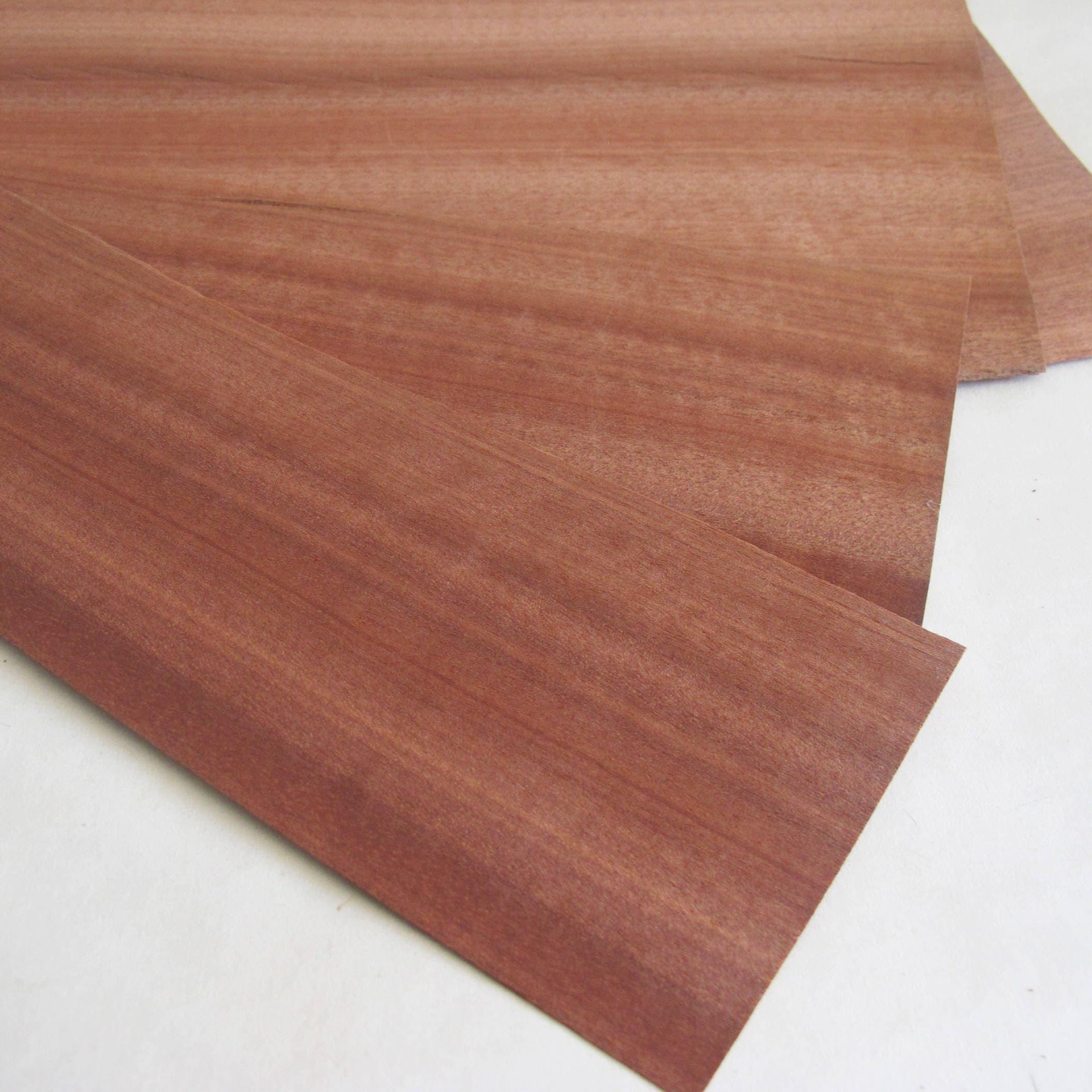 Natural wood veneer 5 wooden sheets wood veneer craft for Wood veneer craft projects