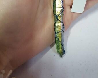 Green Aura Quartz Pendant