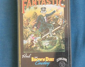 captain fantastic and the brown dirt cowboy Elton john cassette 1975 zdjx 1 phonogram produced by gus dudgeon