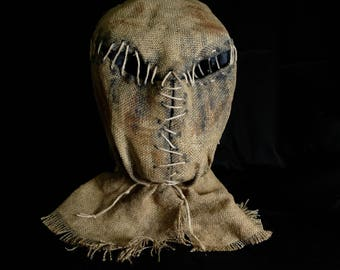 """Mask Scarecrow """"Insect"""", horror, halloween, masquerade, free shipping"""