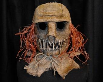 """Mask Scarecrow """"Hair"""", horror, halloween, masquerade, free shipping"""