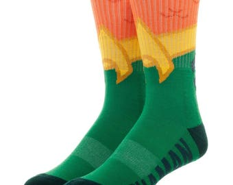 DC Comics Aquaman Socks (New, Free Shipping For Additional Products, 1 Pair)