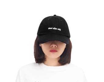 Good Vibes Only Baseball Caps Embroidered Dad Hat 100% Cotton For Men And Women