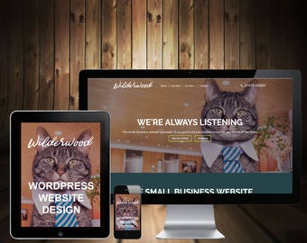 Handmade Website Design - WordPress