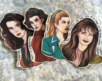 Babes of Twin Peaks!