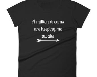 The Greatest Showman Tshirt | A Million Dreams are Keeping Me Awake T-shirt | The Greatest Show T shirt | This Is Me Tee Shirt |