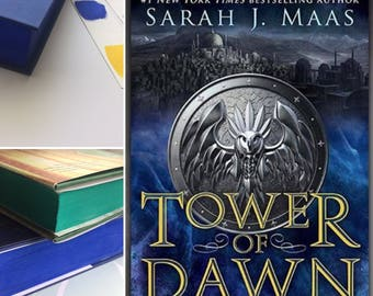 Tower of Dawn Pre Order for the US edition with Stained pages