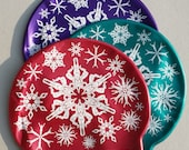 """Gorgeous winter swimming hat """"Swimflakes"""" on high quality silicone - snowflake synchronized swimmers on a swim cap"""