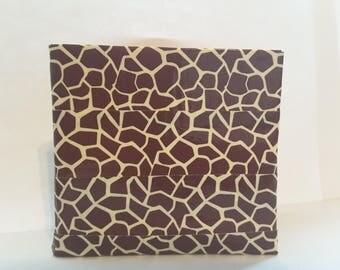 Giraffe Print Duct Tape Wallet