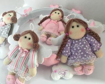 Baby Felt Mobile, Handmade mobiles, baby mobile, nursery decor, baby room