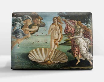 "Laptop skin (Custom size). Sandro Botticelli, ""The Birth of Venus"". Laptop cover, HP, Lenovo, Dell, Sony, Asus, Samsung etc."