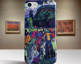 "Vassily Kandinsky, ""La Vie Mélangée"". iPhone 8 Case Art iPhone 7 Case iPhone 6 Plus Case and more. iPhone 8 TOUGH cases. Art iphone cases."