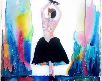 Cosmic Dance - Abstract Print