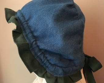 Baby Bonnet That Ties In the Back!
