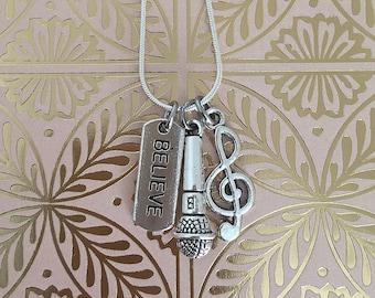 Music Believe Necklace
