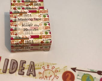 Creative Ideas Washi