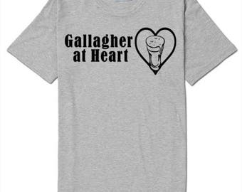 Shameless Gallagher at Heart Beer T Shirt Clothes Many Sizes Colors Custom Horror Halloween Merch Massacre