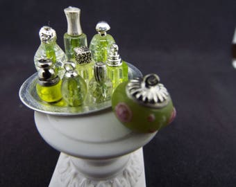 "1/12 Scale Perfume Scent Bottle Set ""Lucious Lime"" - Dollhouse"