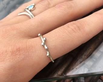 Delicate Bobble Ring