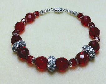 Royal Ruby Bracelet