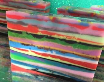 Redneck Rainbow Soap