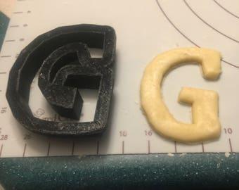 G cookie cutter