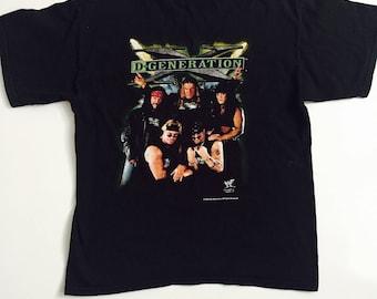 Vintage 1990s WWF D-Generation X  T shirt