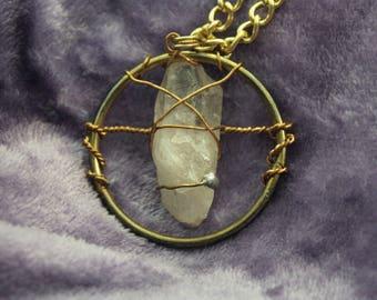Illumination Quartz Crystal Pendant | 02