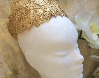 Gold metal accessorie Princess queen Crown