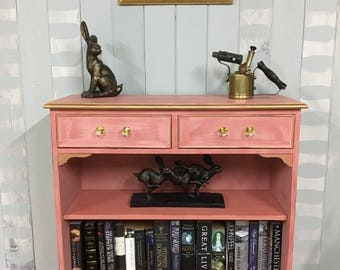 Hand painted bookcase with drawers, Annie Sloan Chalk Paint