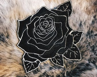 Black Rose Patch