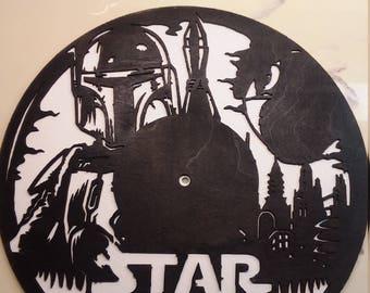 Star Wars Boba Fett Clock
