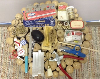 Vintage Notion Bundle --Knitting, Sewing, Quilting, Everything You Need!