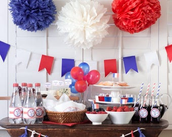 Bastille day party printables