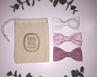 Girly bow set